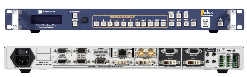 Analog Way Pluse PLS300 Switcher